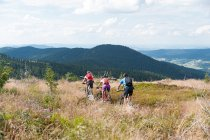 Schachtentour mit dem Mountain-Bike